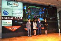 LiveChat Software trzyma dwucyfrową dynamikę zysków i przychodów
