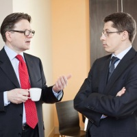 Ireneusz Węgłowski i Marcin Szewczykowski - członkowie zarządu Orbis -  Chcemy być postrzegani jako spółka wzrostowa i dywidendowa
