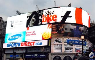Wydatki firm na reklamę stopniowo rosną. (Fot. Daniel Paćkowski)