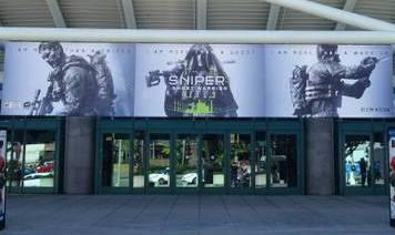 Sniper 3  na E3 Expo w Los Angeles (Fot. fb/cigames)