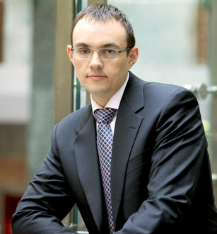 Piotr Krupa, prezes grupy Kruk SA.