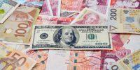 Dolar osłabił się wobec większości walut w drugim kwartale