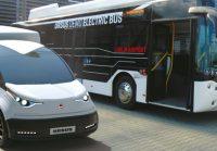 Samochód elektryczny Ursusa debiutuje na targach Hannover Messe