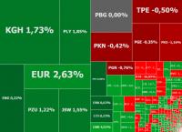 Inwestorzy wracają na rynek akcji, w grze Eurocash, KGHM i Play