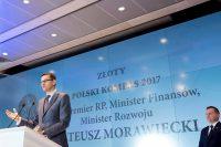 Morawiecki: Wzrost PKB ma szansę wynieść powyżej 4 proc. w całym 2017 r.