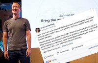 Zuckerberg bierze się za kryptowaluty. Kurs Facebooka śrubuje nowe rekordy