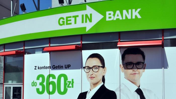 Getin Noble Bank, banki, akcje
