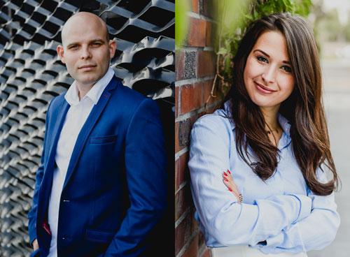Błażej Szaflik, prezes zarządu i Karolina Koszuta, członek zarządu Carbon Studio: Virtual Reality jest technologią przyszłości