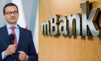 Morawiecki nie wyklucza zainteresowania polskich instytucji finansowych mBankiem
