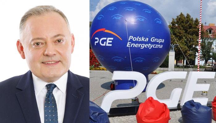 PGE, Dabrowski,prezes, polaczenie,