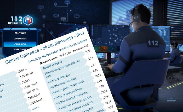 games,operators,ipo,analiza,debiut