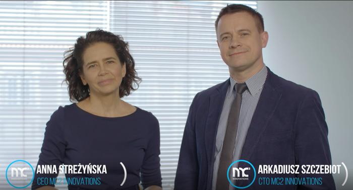 Anna Streżyńska i Arkadiusz Szczebiot – zarząd MC2 Innovations: Chcemy zaistnieć globalnie z platformą Carrotspot