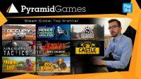 Pyramid Games: Outstanding wishlist w sklepie Steam wynosi ok. 250 tys. graczy