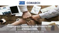 18 czerwca odbyło się webinarium dotyczące raportowania ESEF w formacie iXBRL