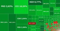 Mocne wzrosty na giełdach, na fali CCC i koncerny energetyczne
