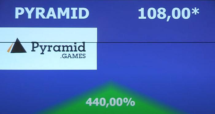 Pyramid,Games,debiut,tko,handel