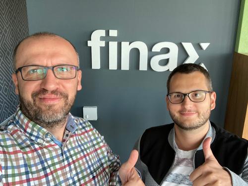Przemek Barankiewicz i Michał Manin, Finax - start 3 grudnia o 11:00