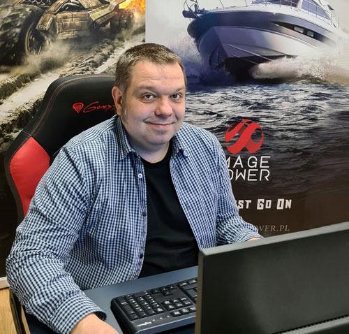 Paweł Graniak - prezes Image Power: Mocno wierzymy w każdą naszą grę