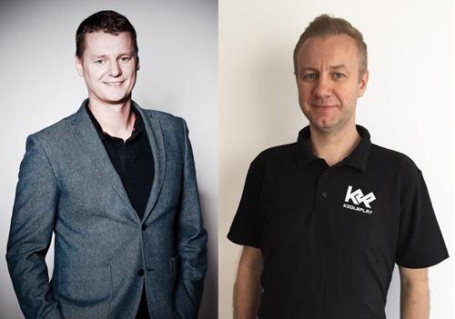 Marcin Marzęcki, prezes oraz Michał Marzęcki, członek zarządu GK Kool2Play SA - start 26 kwietnia o 11:00