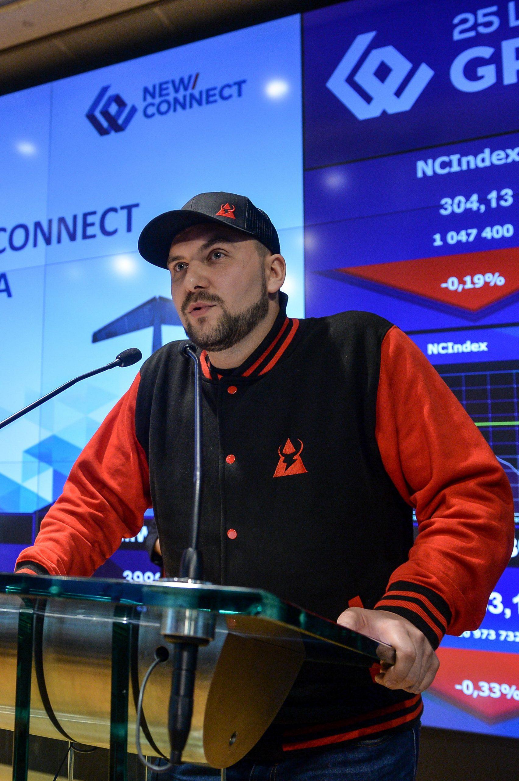 Damian Fijałkowski, prezes zarządu T-Bull SA - start 22 kwietnia o godz. 12:00